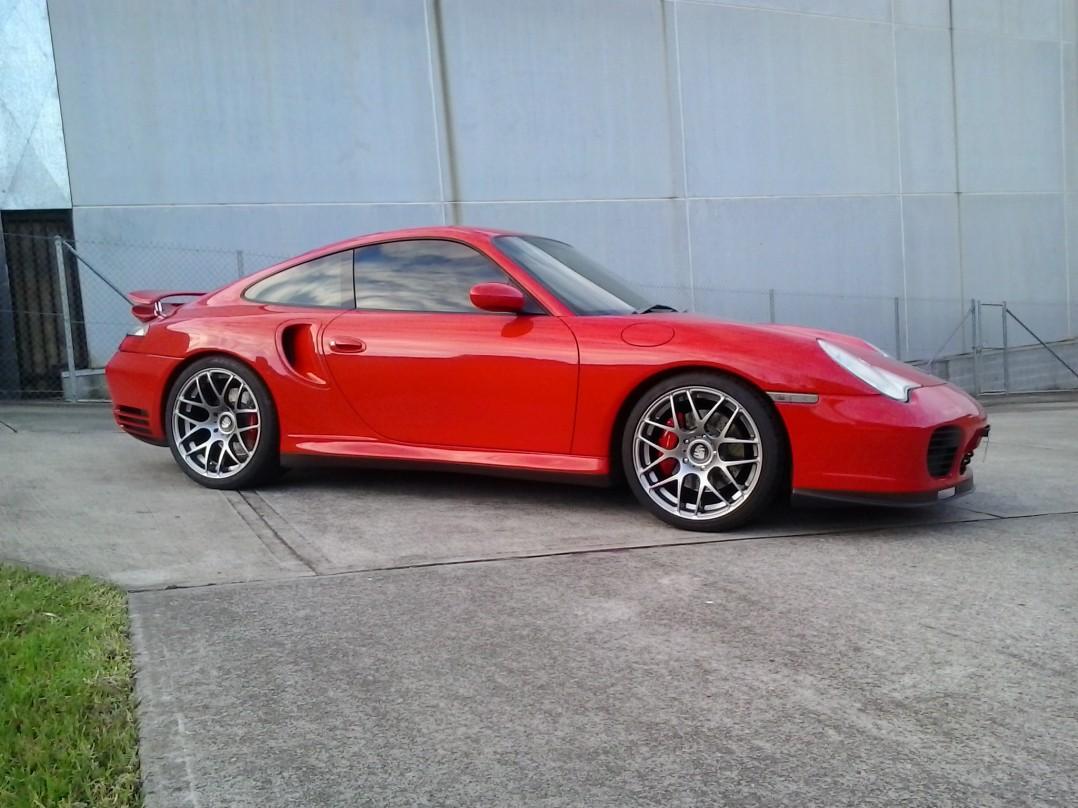 2001 Porsche 996 Twin Turbo