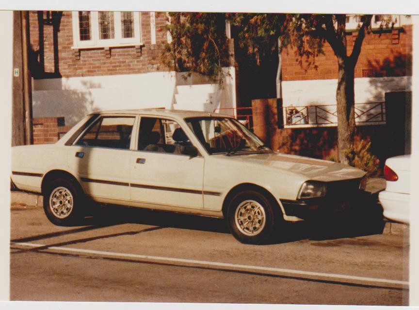 1982 Peugeot 505 GR