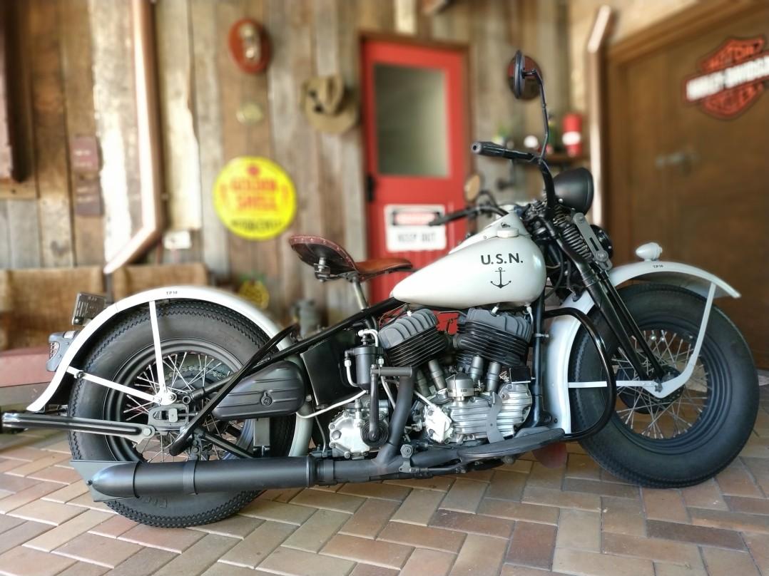 1945 Harley-Davidson US NAVY U MODEL
