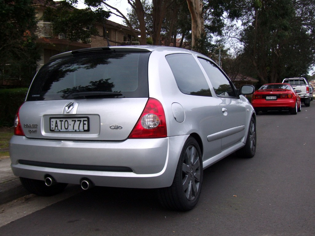 2005 Renault Clio Sport 182 Cup