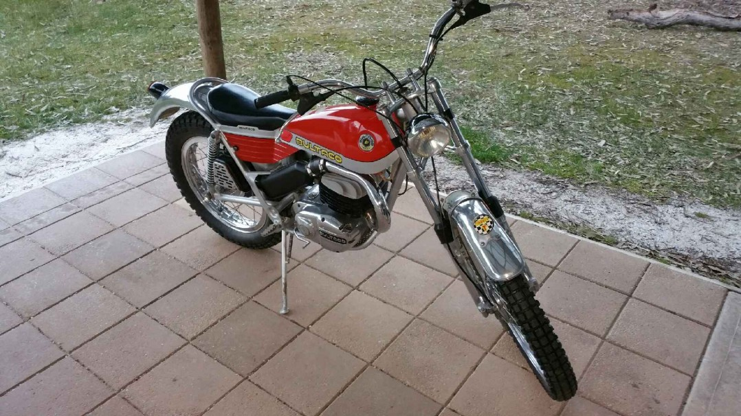 1972 Bultaco Sherpa t. 325cc