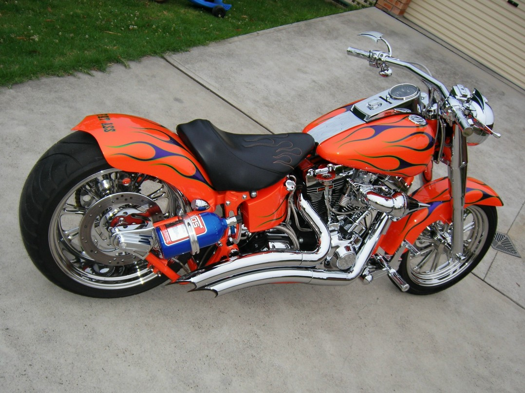Harley Davidson Log: 1999 Harley-Davidson Fatboy