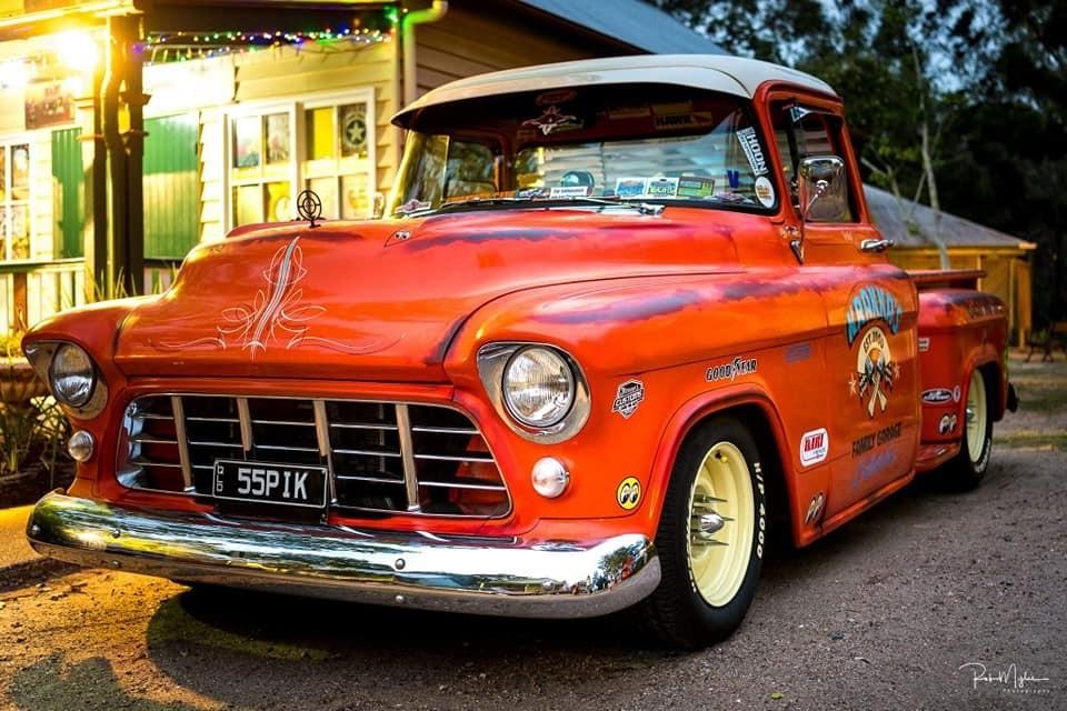 1955 Chevrolet 3100 Task Force Pickup