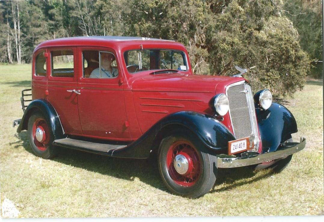 1935 Chevrolet EC Standard  Australian Holden built body