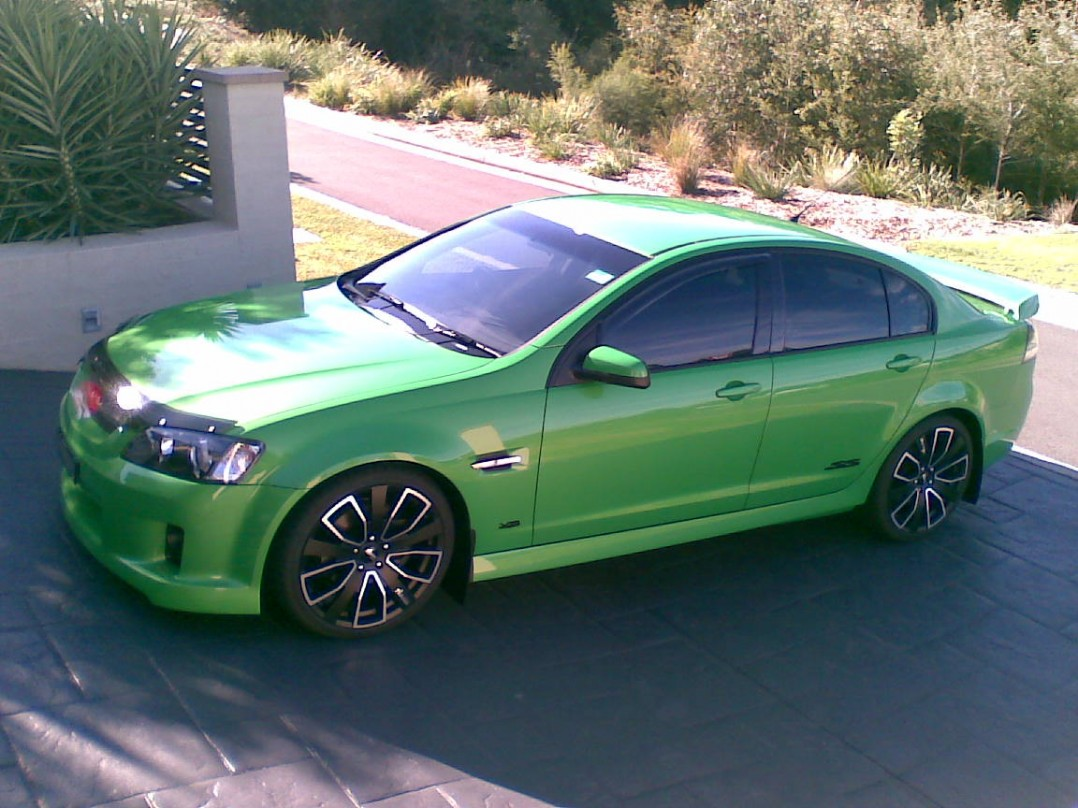 2009 Holden COMMODORE VE SS