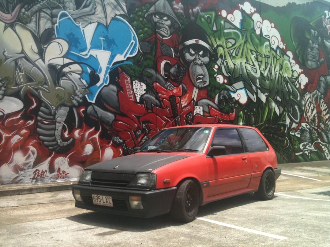 1986 Suzuki Gti