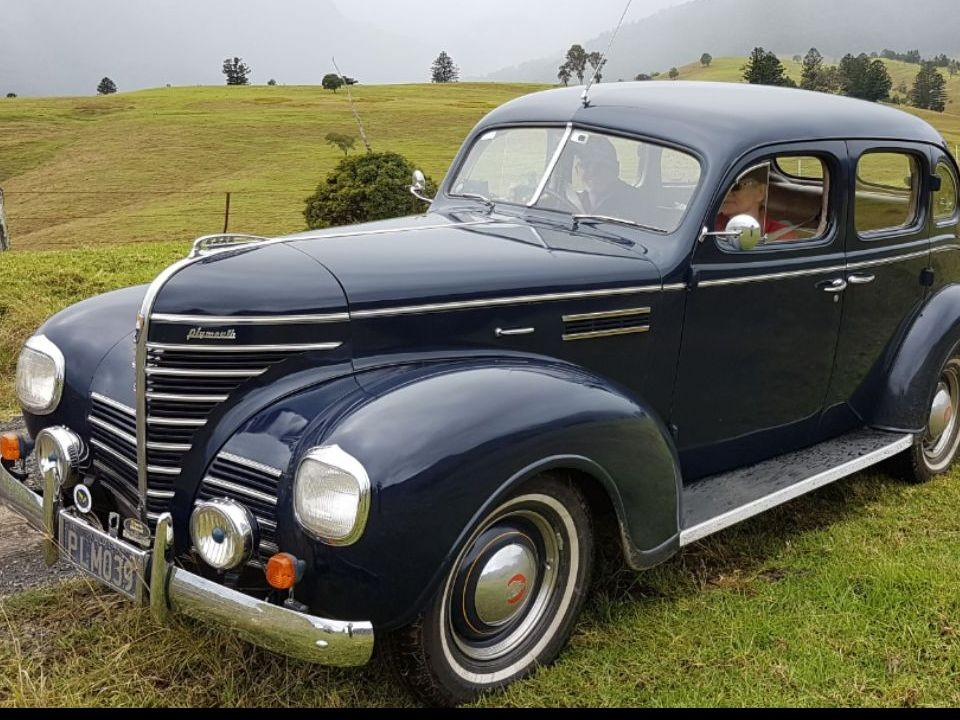 1939 Plymouth P7D