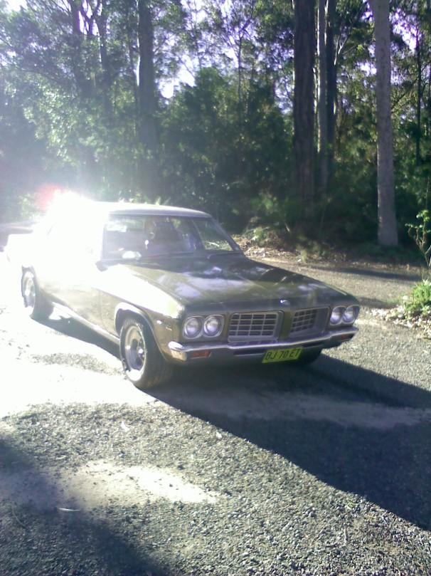 1974 Holden statesman v8 hq
