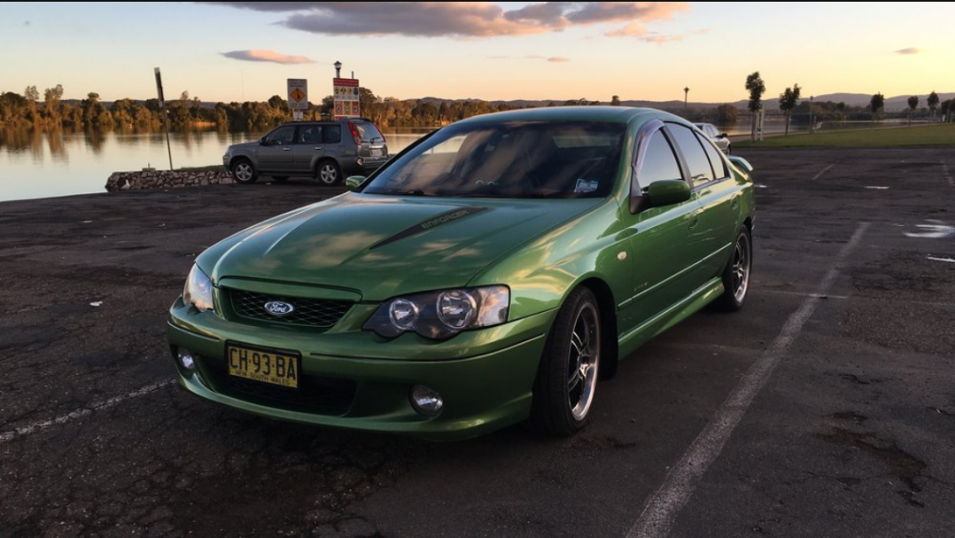2005 Ford Performance Vehicles BA XR8 ENFORCER MkII