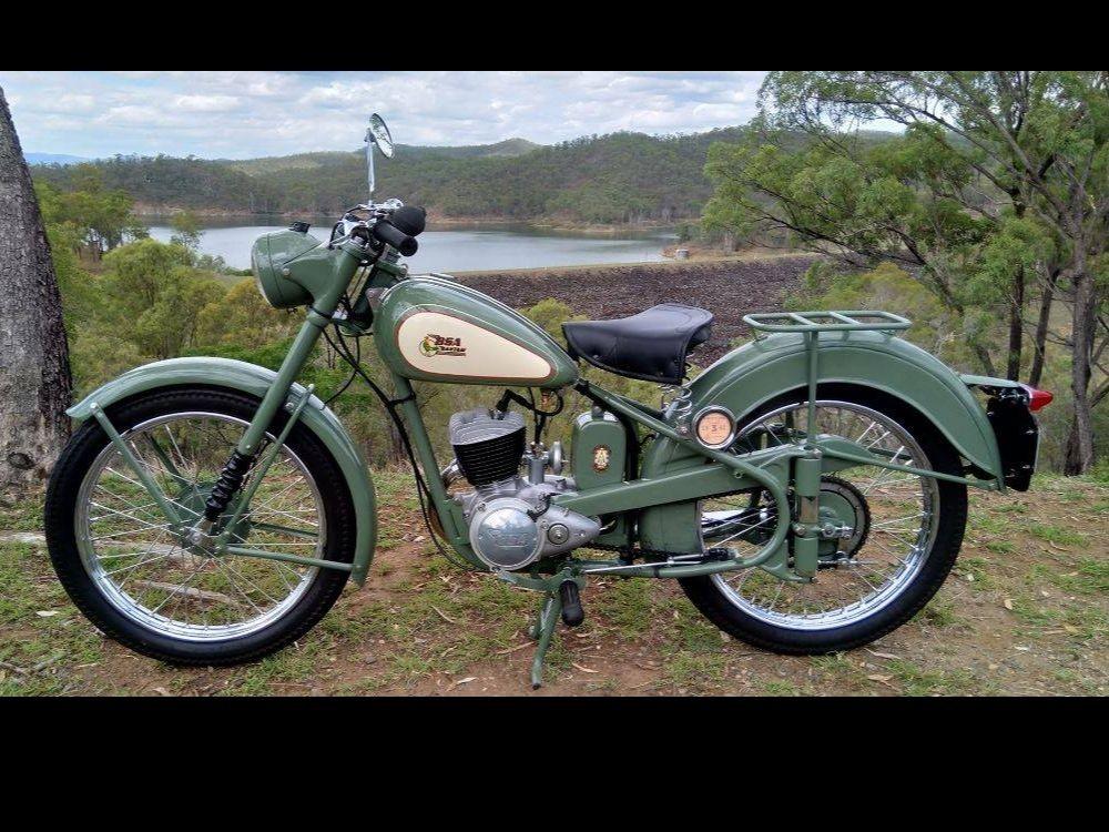 1962 BSA Bantam D1