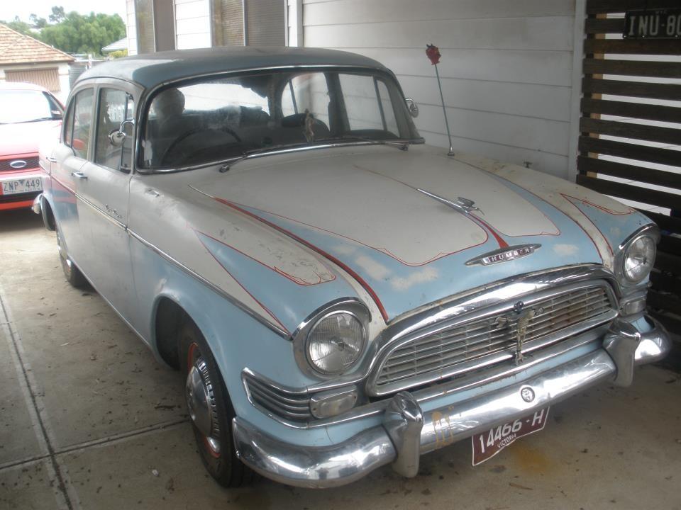 1958 Humber SUPER SNIPE