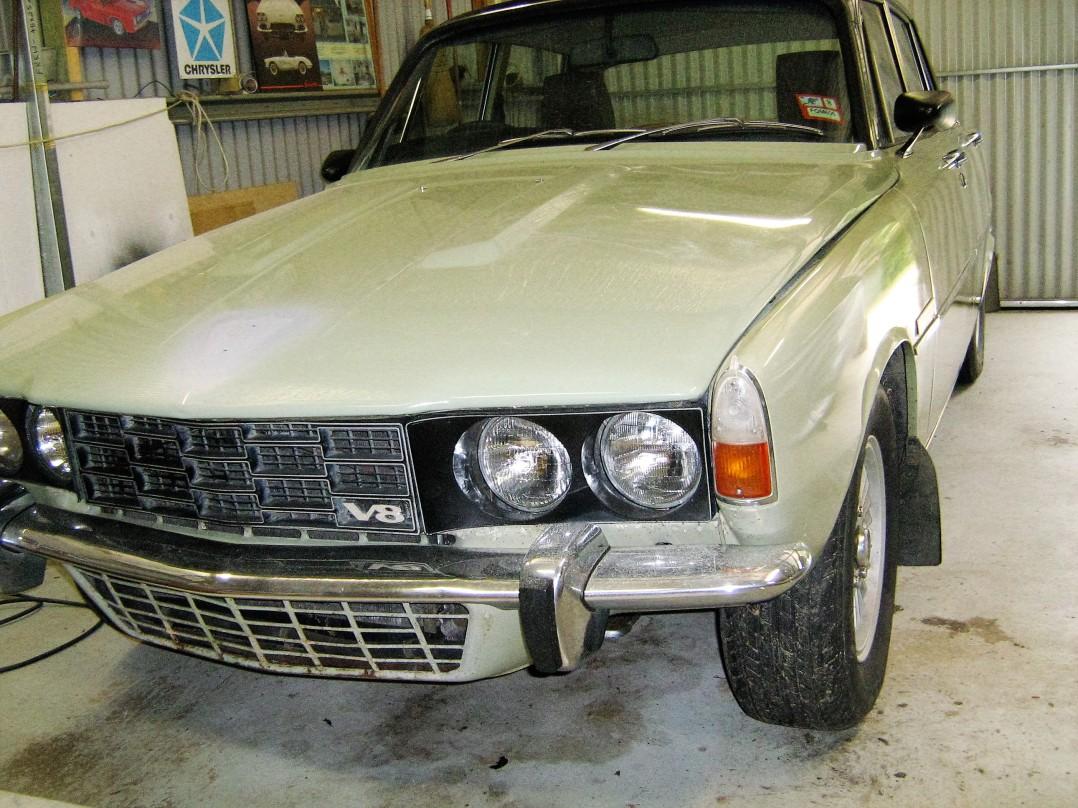 1974 Rover P6B Manual