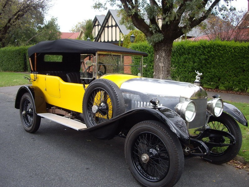 1923 Straker-Squire PA