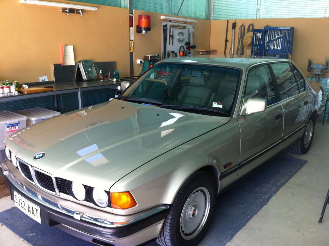 1989 BMW 750iL