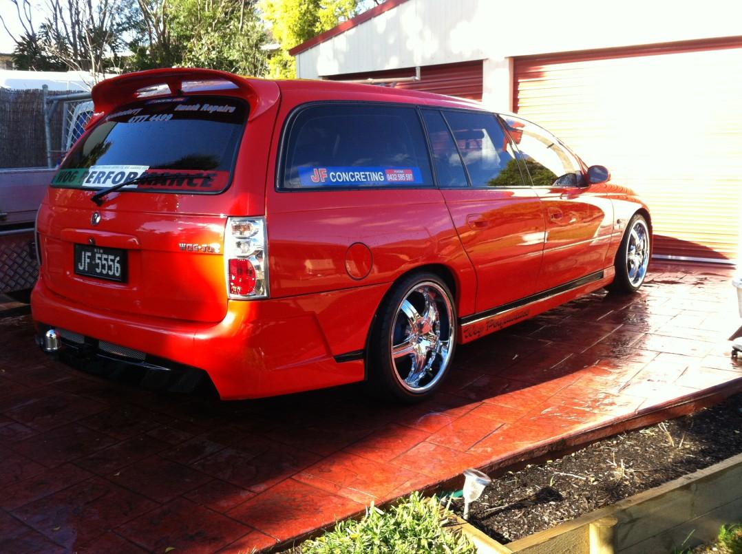 1998 Holden COMMODORE VT