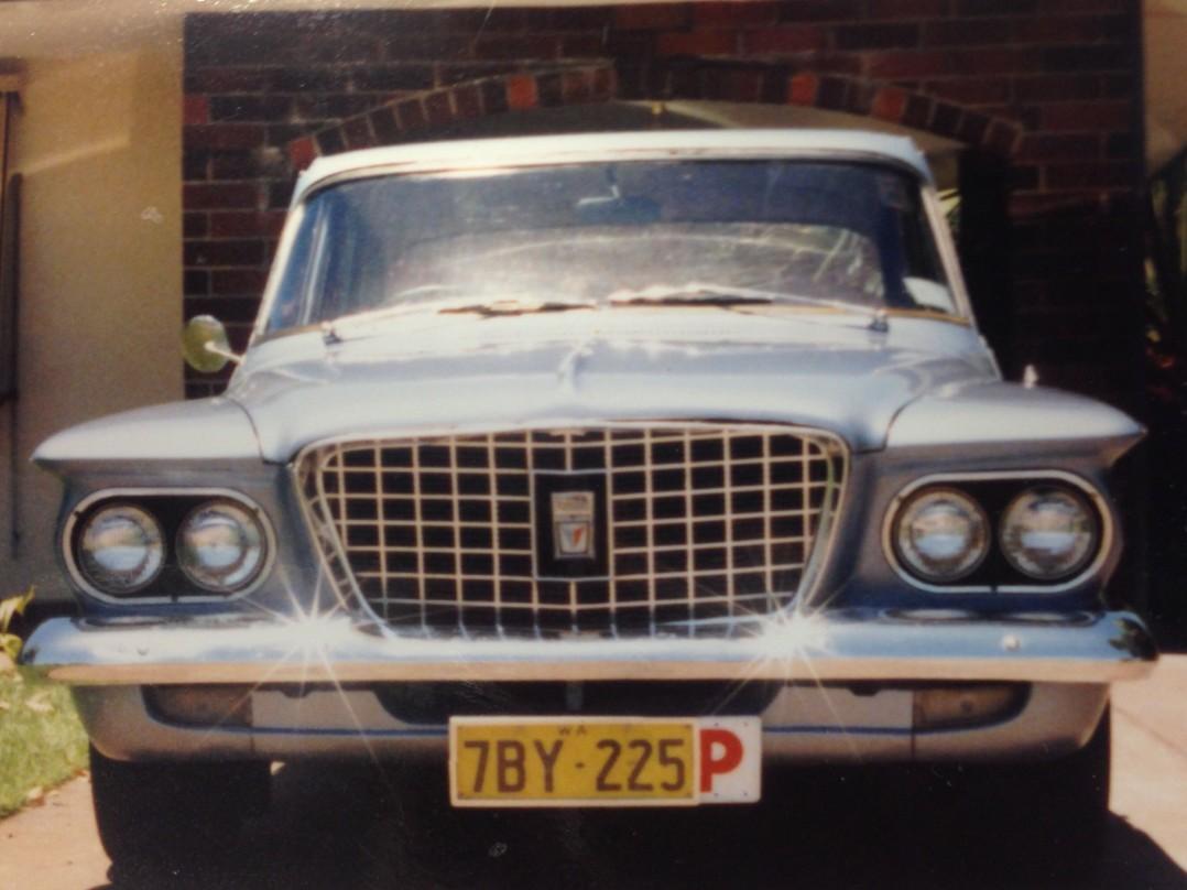 1962 Chrysler R model