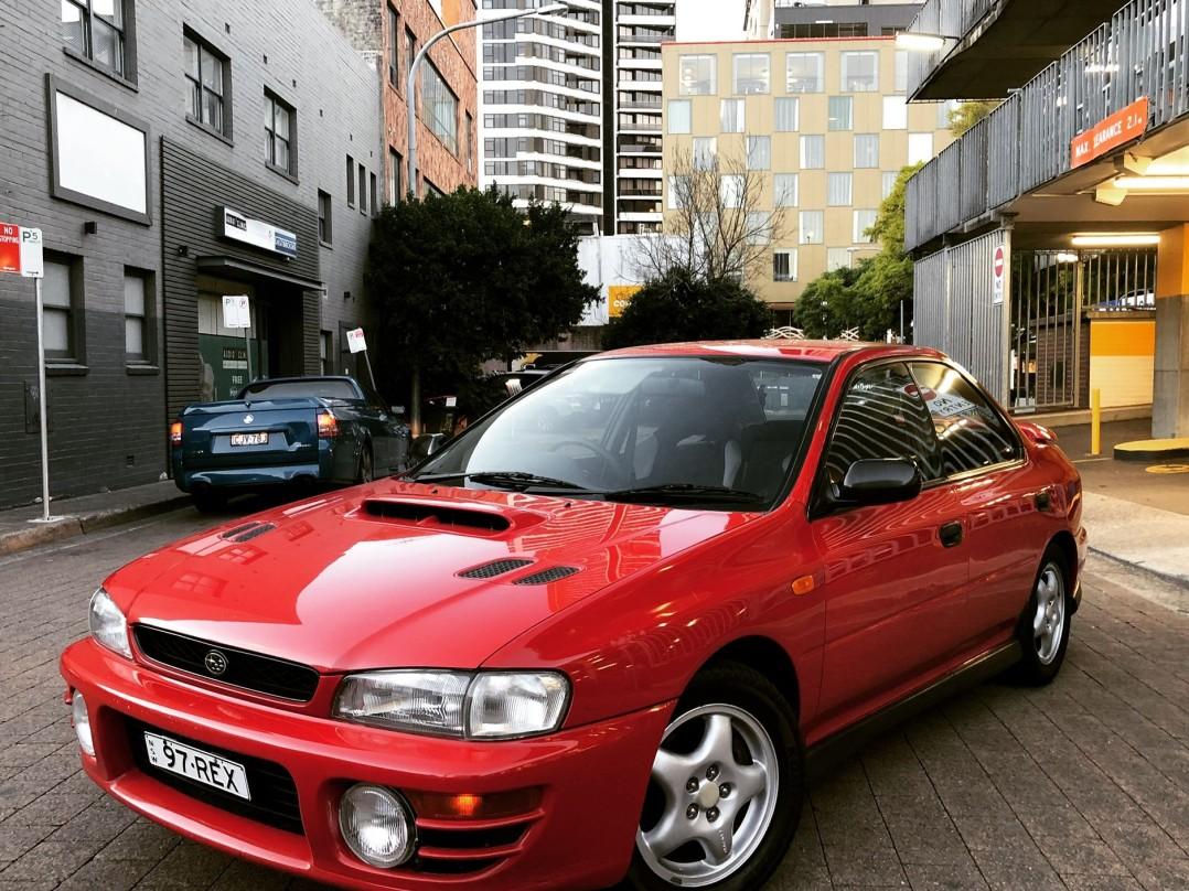 1997 Subaru IMPREZA WRX (AWD)