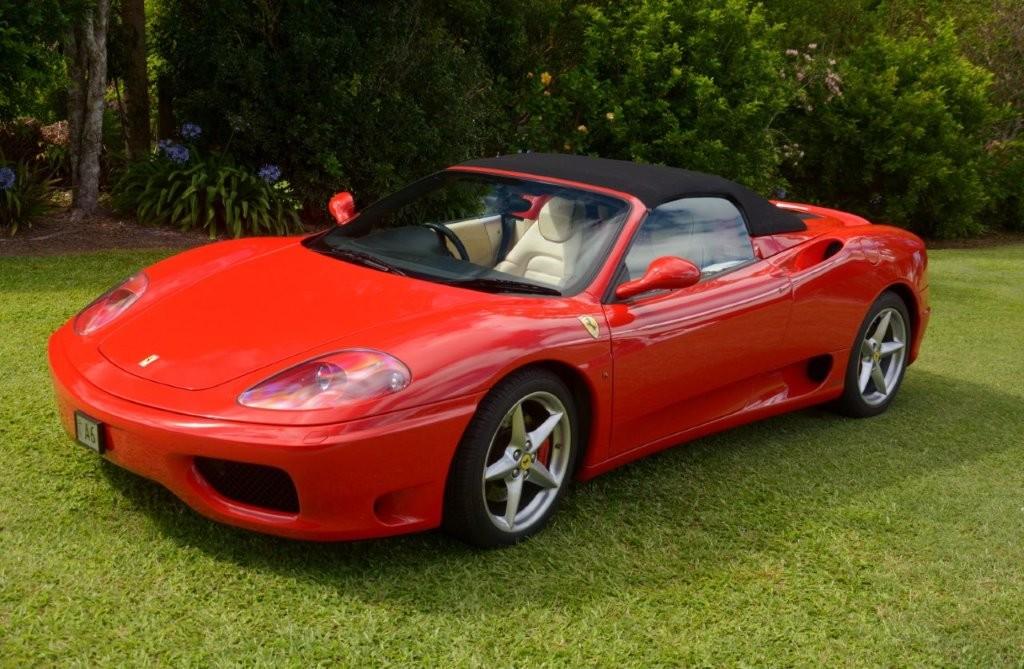 2005 Ferrari 360 Spyder F1
