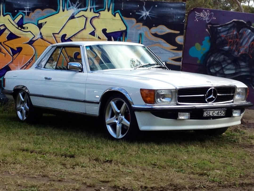 1977 Mercedes-Benz 450 SLC