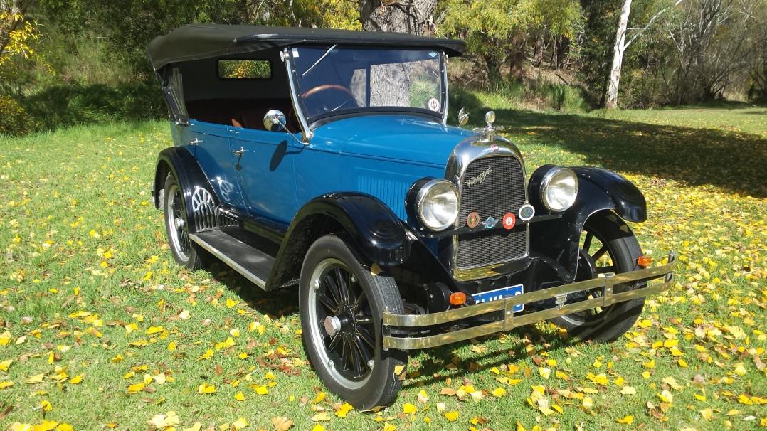 1926 Willys Overland Model 96 - Whippet