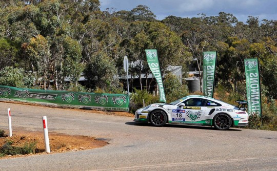 Top ten finish for Jim and Barry in 2017 Targa West