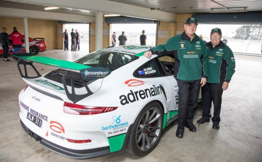Jim and Barry finish 9th in the GT2 class in Targa Tasmania
