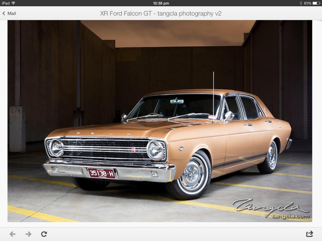 1967 Ford Falcon GT