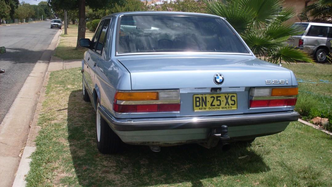 1982 BMW 528i EXECUTIVE