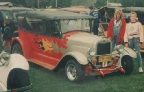 1925 Chevrolet tourer