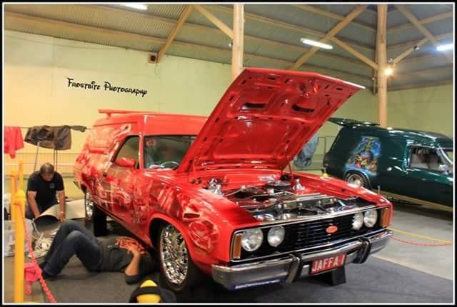1977 Ford xc sundowner panelvan