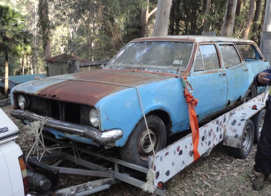 1969 Holden HT Kingswood wagon