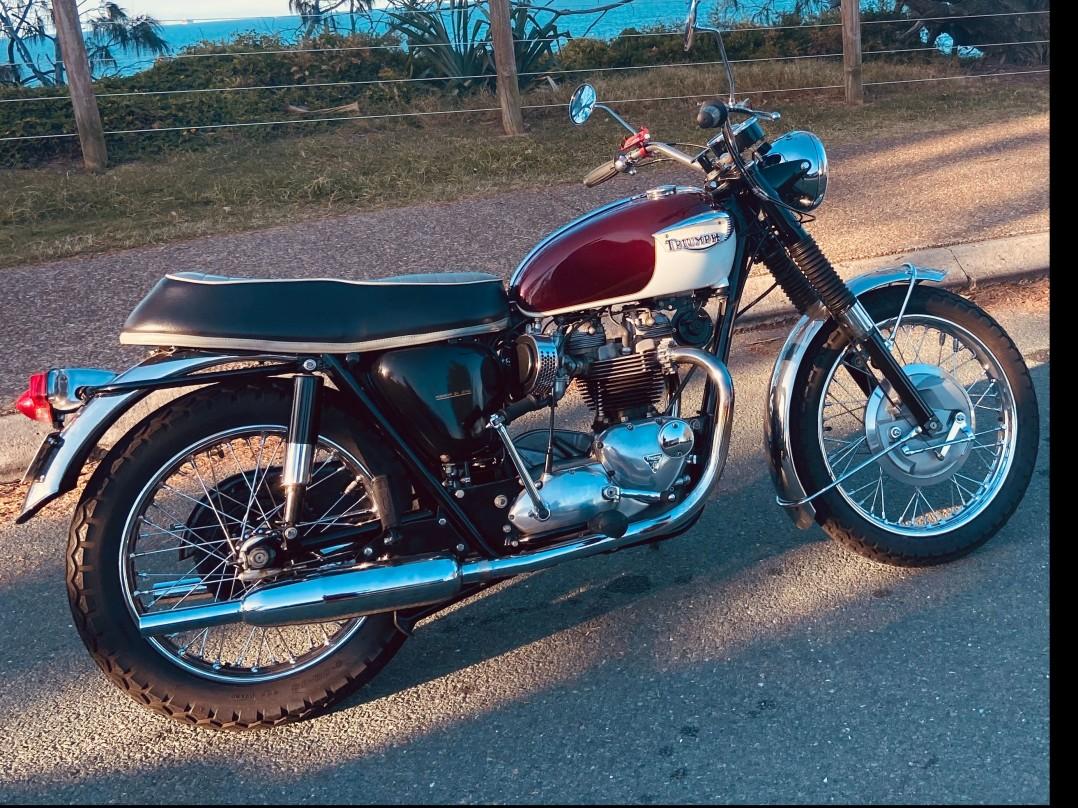 1967 Triumph Bonneville 650