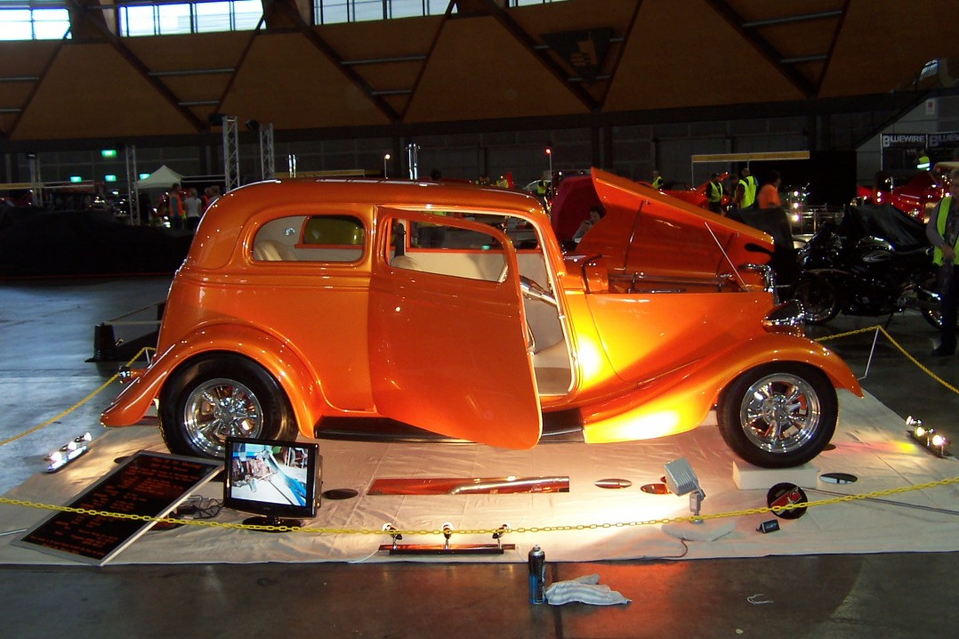 1933 Ford Victoria Hot Rod