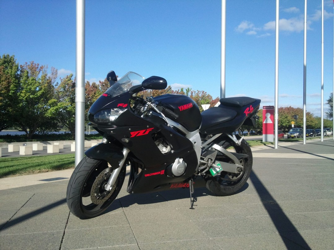 2002 Yamaha Yzf R6 - Svr1007