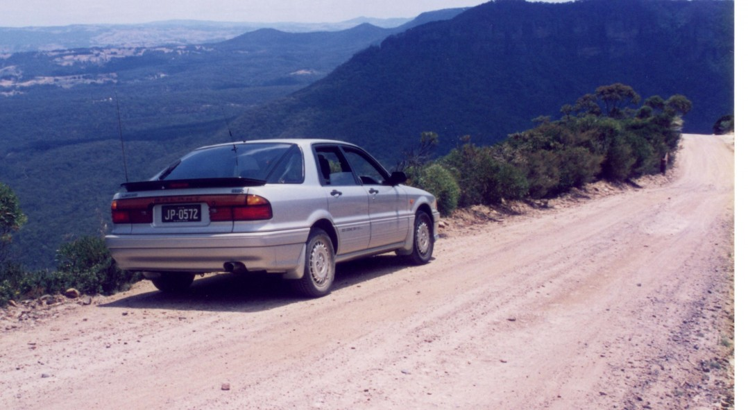 1989 Mitsubishi GALANT GSR