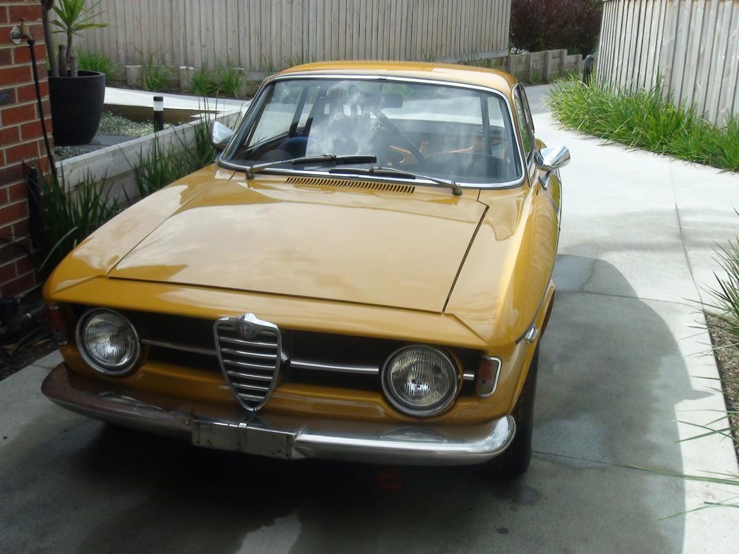 1970 Alfa Romeo 105 Gtv Bertone 1750 Series Ii Gta105