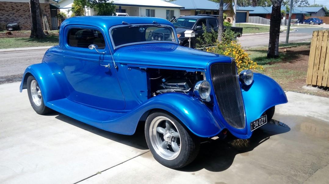 1934 Ford Model B?
