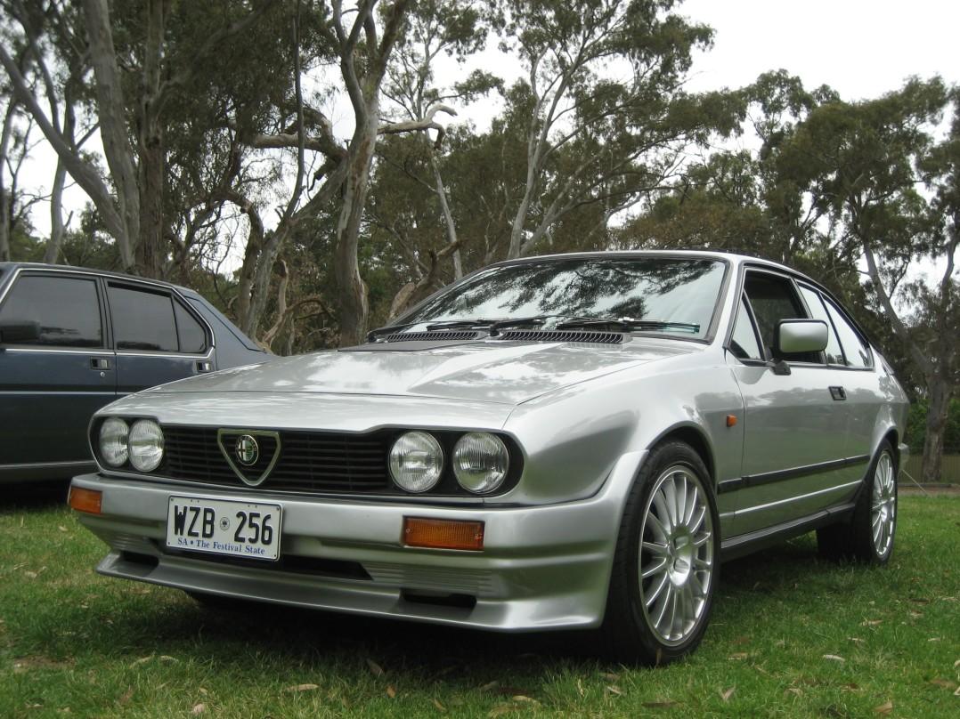 1983 Alfa Romeo ALFETTA