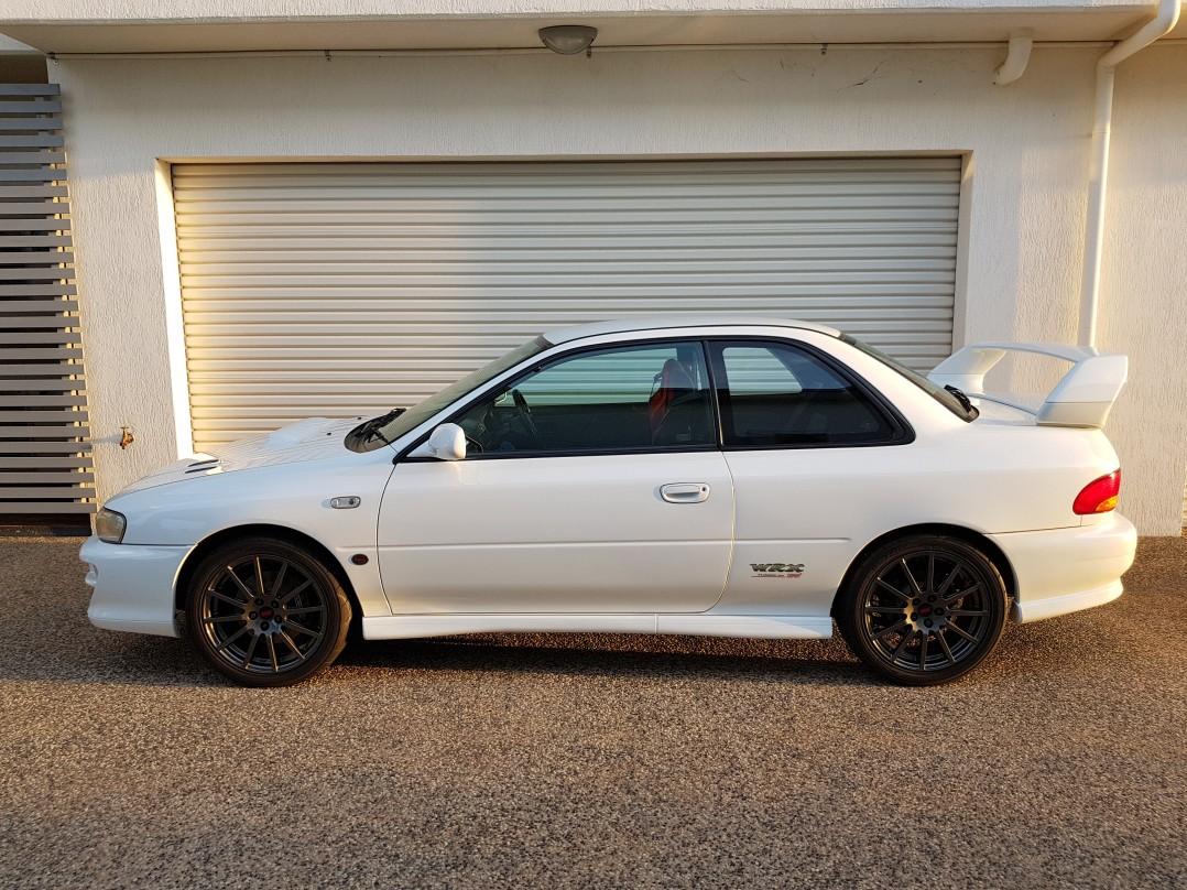 1999 Subaru Impreza WRX Version 5 STi Coupe