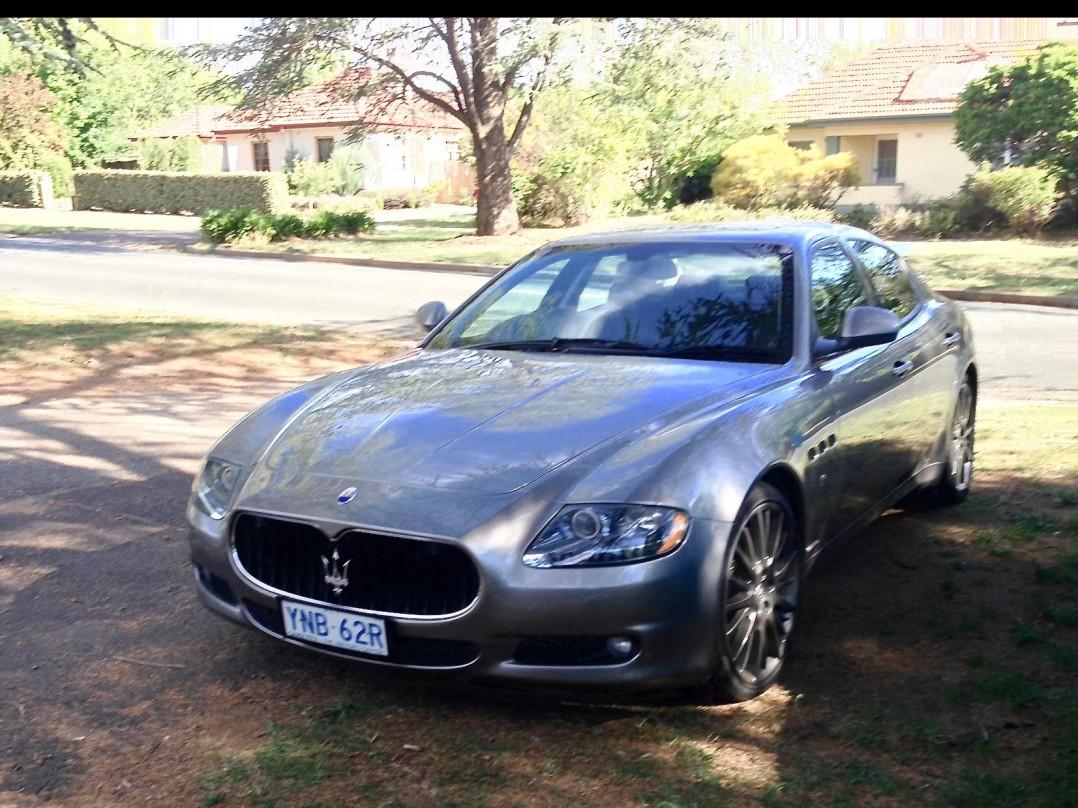 2010 Maserati QP GTS