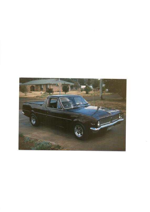 1969 Holden KINGSWOOD Ute