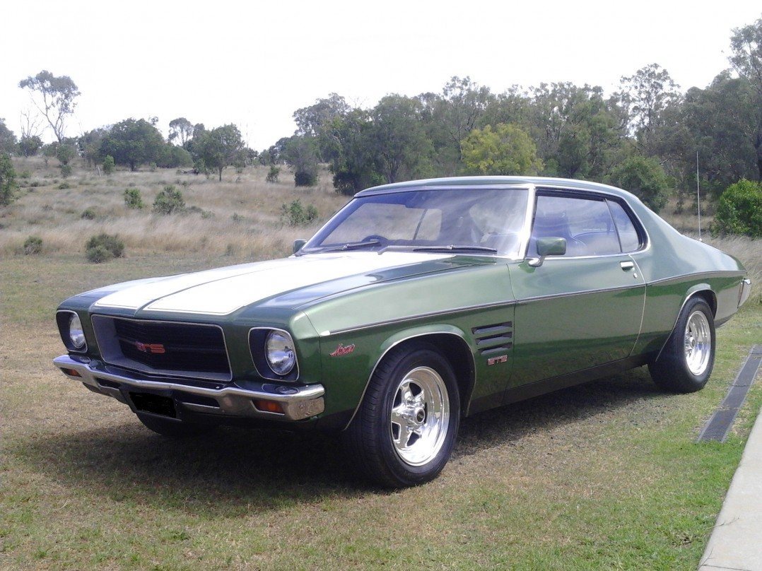 1974 Holden HQ GTS Monaro coupe 308 four speed