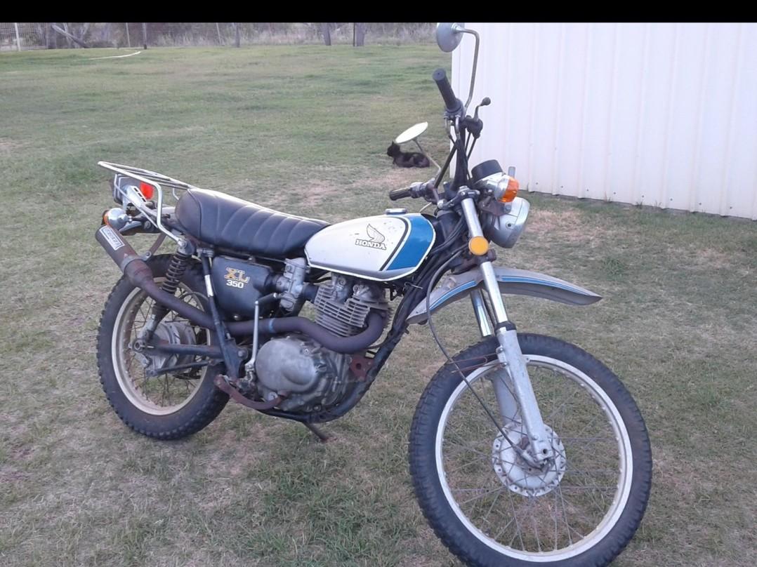 1974 Honda XL 350