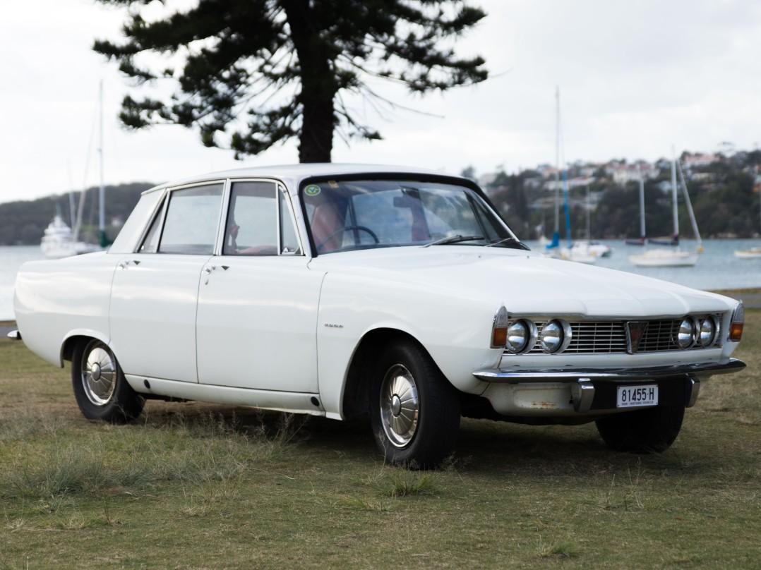 1963 Rover P6 2000