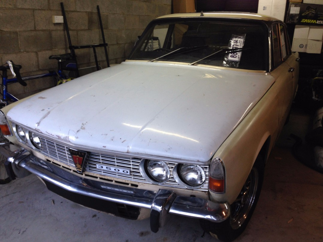 1969 Rover P6B Series 1