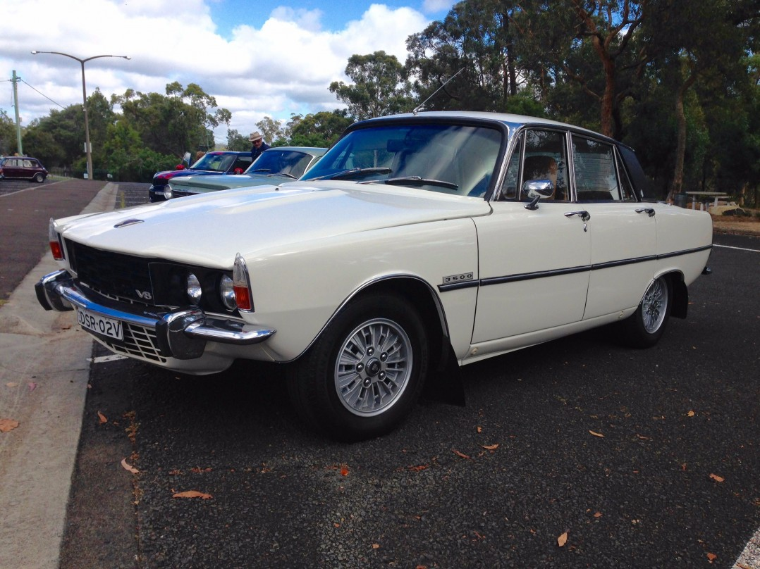 1974 Rover P6 3500