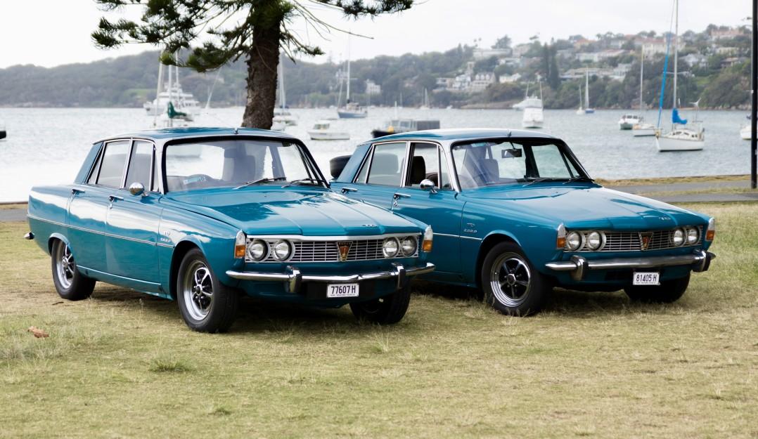 1969 Rover 2000 TC