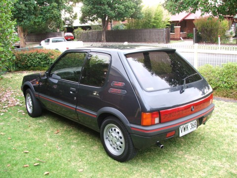 adelaide 1989 peugeot 205 gti for sale shannons club