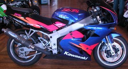 1995 Kawasaki ZXR 750