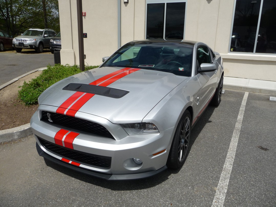 2012 Ford Mustang Shelby 500GT